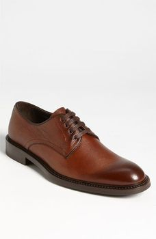 To Boot New York 'Clark' Plain Toe Derby Dark Tan 8 M