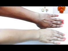 COMO CLAREAR a cor da pele em 3 dias: pernas, mãos e pescoço: clarear a pele naturalmente: DIY - YouTube