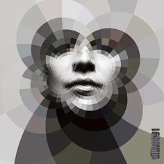 awesome geometric portrait