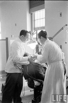 mental hospital staff 1936