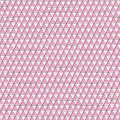 Mountainz Pink from Monsterz by Michéle Brummer-Everett for Cloud9 Fabrics