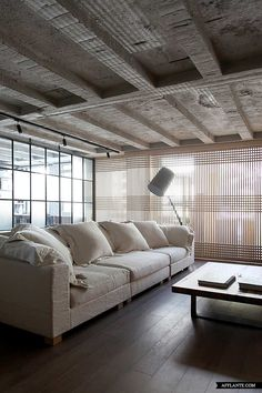 Faliro Loft by Ese Studio.  Wall designs by Patricia Urquiola