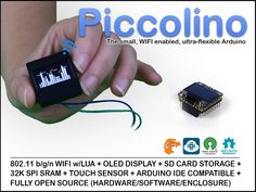 And another candidate for future Visuino - http://www.visuino.com support. All in one Arduino + WIFI + OLED and SD! #Arduino #Visuino