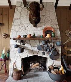 Take a tour of this amazing cabin and get your DIY juices flowing with some amazing ideas