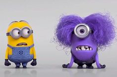 Okay I know im 13 years old and I am a scary movie fanatic but...those purple minions scare the living crap out of me, idk y so don't ask lolz...I just cant believe they took my cute lil minions and turned into freaky monsters!!!