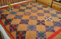 Early 19th Century Calico Patchwork Quilt | eBay