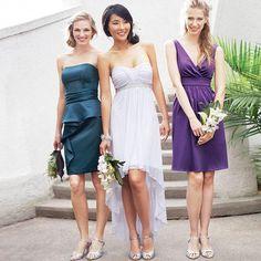 JOLIE Asymmetrical Hem Wedding Dress