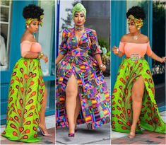 Hello fashionistas, come in here and steal these enchanting African print styles from Chic Ama Style. She is a very stylish African fashionista. Ankara Fashion, African Print Fashion, Africa Fashion, Fashion Prints, Fashion Styles, African Wear, African Attire, African Dress, Bella Wedding Dress
