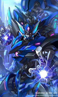 Mechanical warriors V - Poseidon by *GoddessMechanic on deviantART