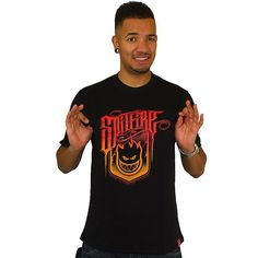 T-shirt Dickies x Spitfire 100 Proof black