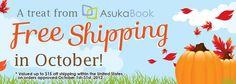 AsukaBook Free Shipping