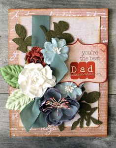 Prima card by Cari Fennell using En Francais collection