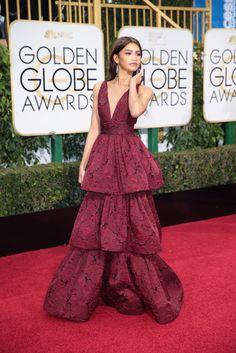 Golden Globes 2016 Red Carpet: See the Looks - Helen Mirren in Bagley Mischka. - The New York Times