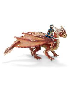 Look at this #zulilyfind! Young Dragon Rider Figurine Set by Schleich #zulilyfinds