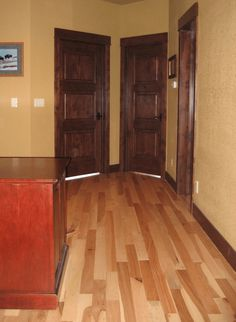 stained interior doors | Interior Staining of Doors, Trim; and Interior Painting of Walls