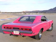 1970 Dodge Charger R/T in Panther Pink