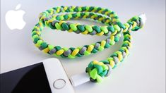 How to Protect Your iPhone Cable with Paracord | 4-Strand Braided iPhone...