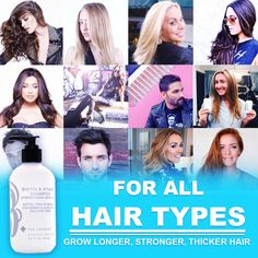 Biotin Shampoo For Hair Growth - Stimulating Shampoo For Hair Loss All Natural For Thinning Hair, Sulfate Free Aloe Vera Cucumber Extract With Pro Vitamin B, B. the product, B the product - Risetube Online Shopping Canada Hair Regrowth Shampoo, Biotin Hair Growth, Biotin Shampoo, Hair Loss Shampoo, Help Hair Grow, Vitamins For Hair Loss, Anti Hair Loss, Free Hair, Hair Type