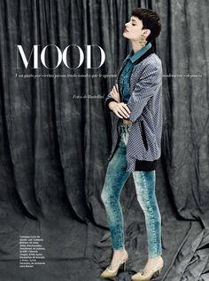 blue mood: pau bertolini by battellini for harper's bazaar argentina june 2013 | visual optimism; fashion editorials, shows, campaigns & more!