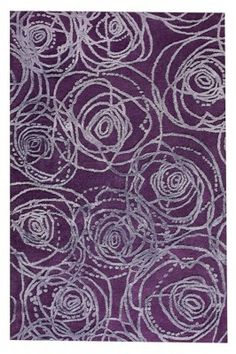Rosa in Purple area rug is a part of our Milano collection. It is hand tufted & hand carved out of New Zealand wool and Viscose wool. It is a cut & loop, high low pile.