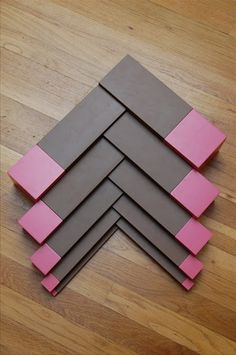 Pink Tower Brown Stair extension