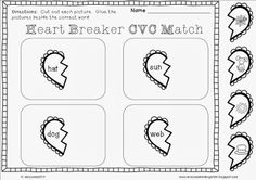 Mrs. Lowes' Kindergarten Korner: No Prep Valentine's Day Math and Literacy Printables GIVEAWAY plus a FREEBIE for everyone!