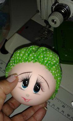 muñeca para el baño