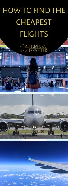 Wondering how to find the cheapest flights online? These tips will show you how to get cheap flight deals and get you flying faster and further for less. Best Flights, Cheap Flights, Flights Online, Cheap Flight Deals, Best Flight Deals, Travel Guides, Travel Tips, Travel Destinations, Loosing Weight