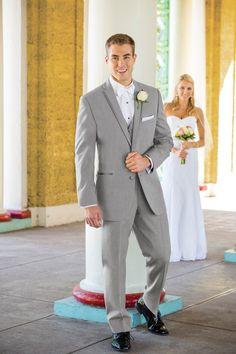 Heather Grey Aspen Tuxedo   Slim-fit Tuxedo