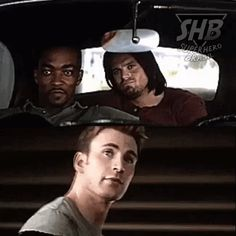 """I loved this moment!! The boys are like """"aww yeah man, nice!!"""" And Cap's like…"""