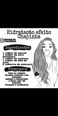 Beauty Care Routine, Beauty Hacks, Beauty Secrets, Make Beauty, Beauty Skin, Natural Hair Care, Natural Hair Styles, Hair Health, Hair Hacks
