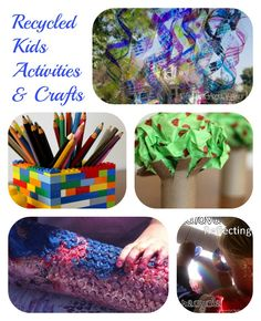 5 Recycled Kids Activities & Crafts - Discover Something New Every Week with the Kids Co Op