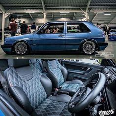 Volkswagen – One Stop Classic Car News & Tips Volkswagen Golf Mk1, Vw Mk1, Automotive Upholstery, Car Upholstery, Vw Scirocco, Vw Passat, Supercars, Golf 2, Modified Cars