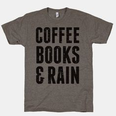 Coffee Books & Rain (Vintage) | HUMAN
