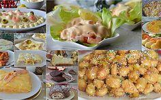 PRANZO DI NATALE ricette facili veloci ed economiche Antipasto, Buffet, Potato Salad, Menu, Shrimp, Potatoes, Ethnic Recipes, Olive, Oven
