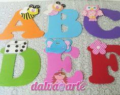 alfabeto decorado