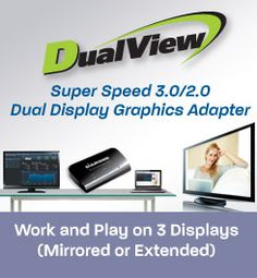 DV100 Dual Display Graphics Adapter