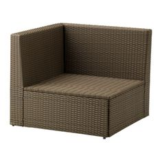 $120 ARHOLMA Corner section IKEA Hand woven plastic rattan with the same expressions as natural rattan but durable for outdoor use.
