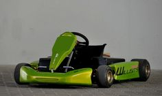 Zöld Gokart