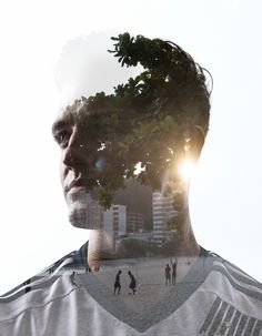 Double Exposures with MLS stars Kyle Beckman, Robbie Rogers, Graham Zusi, Bradley Wright Phillips, and Dom Dwyer. Using backgrounds from the location of the 2014 World Cup, the warm depth filled Rio sunscapes with soccer fields or stadium (The Maracana) w…