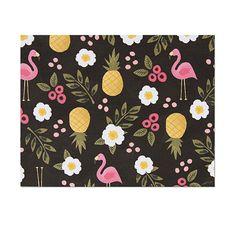 Floral Flamingos Card