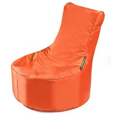 #Kindersitzsack von Pushbag - Small Seat: Orange