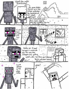 If you look at a Enderman, they attack you. You only.