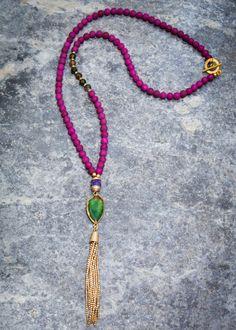 Pranella Zuri Tassel Necklace | Villancher Fashion Jewellery Boutique