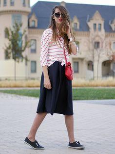 ¿Y si encontraras un blog en el que inspirarte para vestirte al día siguiente?  Su blog: Outside Fashion Catwalk