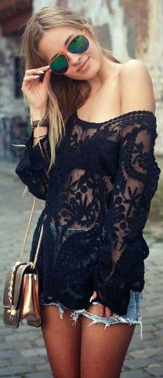 #Lace #black
