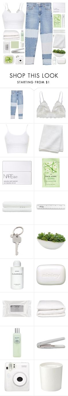 """the green eyes, you're the one that i wanted to find ♡"" by fxrever-isnt-for-everyone ❤ liked on Polyvore featuring MANGO, Humble Chic, Topshop, CB2, NARS Cosmetics, H&M, Linum Home Textiles, Paul Smith, Distinctive Designs and Byredo"