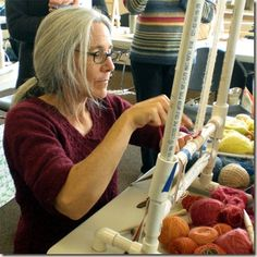 Sarah Swett - an incredible weaver, and an amazing person!