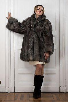 Pelliccia Volpe лиса шуба ротонду fourrure renard fuchspelzmantel abrigo Piel