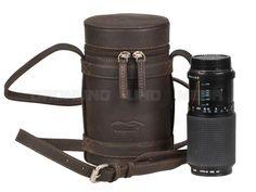 Leather Camera Lens Bag Photo Case Kalahari KAAMA L-82